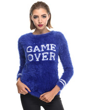 -FEATURES- - SHINE PL W - GAME OVER Sweater