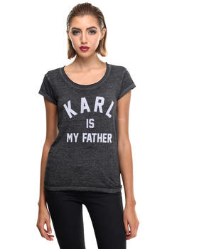 Short-Sleeve - FARLADEL W -IS MY FATHER BURN OUT TEE