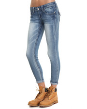 "Women - Bailey 27"" Rolled Cuff Low Rise Jean"