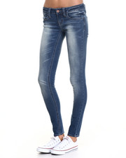 Women - Bailey Super Skinny - Rayon Fabric Jean
