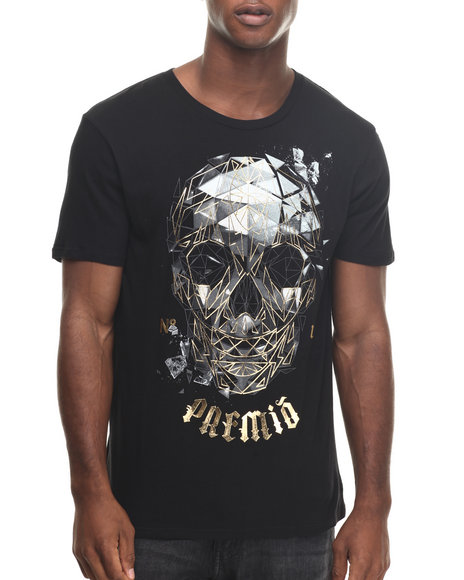 Ecko - Men Black Future Primate T-Shirt