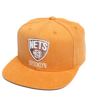 Men - Brooklyn Nets Mustard Snapback
