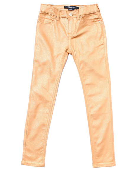 gold coated jeans  7 16