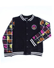 Light Jackets - TRUKFIT VARSITY JACKET (8-20)