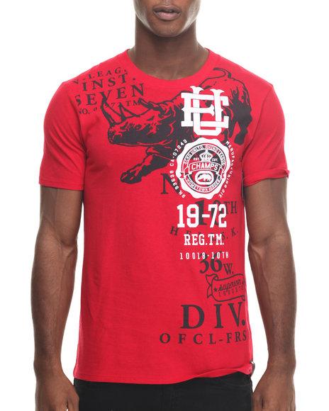 Ecko - Men Red Distinguished Alumni T-Shirt - $15.99