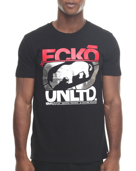 Ecko - Men Black In The Cut T-Shirt