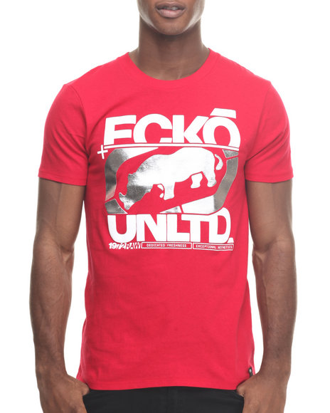 Ecko - Men Red In The Cut T-Shirt