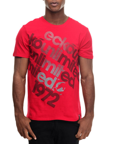 Ecko - Men Red On The Byass T-Shirt