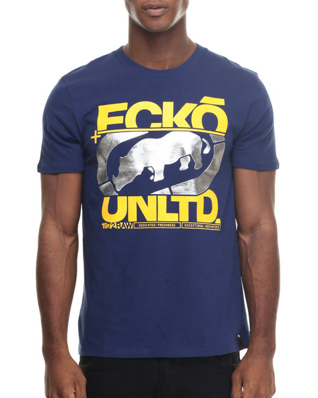 Ecko - Men Navy In The Cut T-Shirt