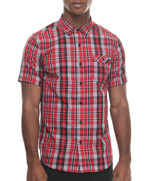 Ecko - Men Red Confront S/S Button-Down