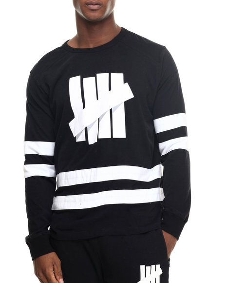 Undftd - Men Black Breakaway Hockey Jersey