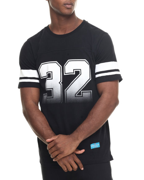 Undftd - Men Black Grade A Football Tee