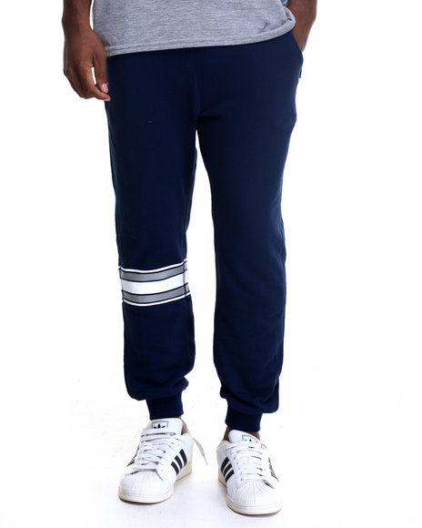 Undftd - Men Navy Pro Set Sweatpants