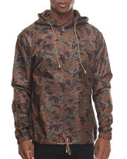 Outerwear - Camo Windbreaker