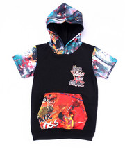 Hoodies - S/S GAME TIME HOODY (4-7)