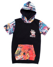 Black Friday Shop - Boys - S/S GAME TIME HOODY (8-20)