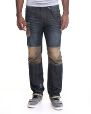 Straight - Destruct Straight Fit Jeans