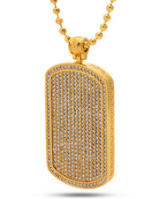 Accessories - 18K Gold Dogg Tag Necklaces
