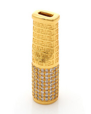 Men - 14K Gold Greek Key Cigar Tip