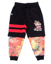 Boys - DOUBLE LAYER GAME TIME JOGGERS (4-7)