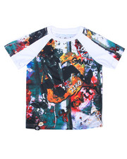 Black Friday Shop - Boys - S/S RAGLAN SUBLIMATION GAME TIME TEE (4-7)