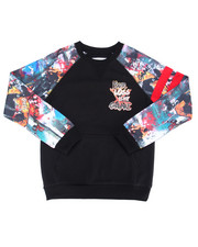 Akademiks - GAME TIME RAGLAN SWEATSHIRT (8-20)