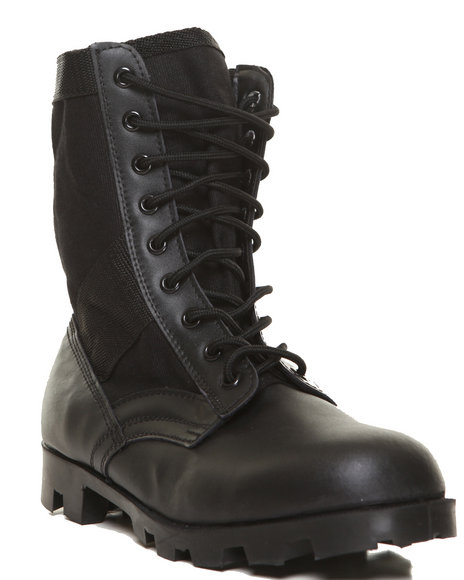 Rothco - Men  Rothco Black G.I. Type Speedlace Jungle Boot - $63.99
