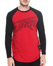 Bass By Ron Bass - Velcro Strap 3/4 Raglan Tee