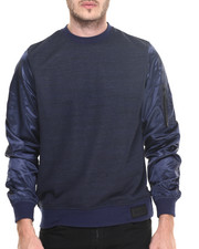 Men - MA-1 Crew French Terry Sweatshirt