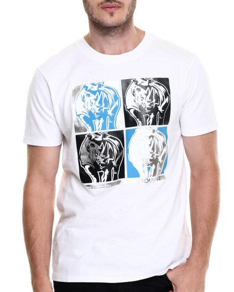 Ecko - Men White Double Down T-Shirt