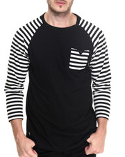 Men - Marshall Retro moto raglan tee