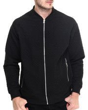 Outerwear - Quilt Zip Front Jacket