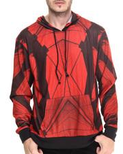 Men - Bridge print pullover hoodie