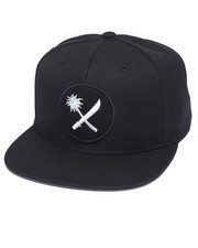 Men - Crosscut Patch Snapback Cap