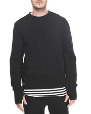 Men - Kearney Size zip e-longated sweatshirt W/Kangaroo Pockets