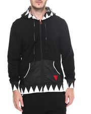Hoodies - Bass Teeth Zip - Up Hoodie