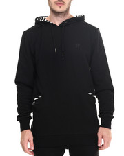Hoodies - Sherman stripe accent pullover hoody