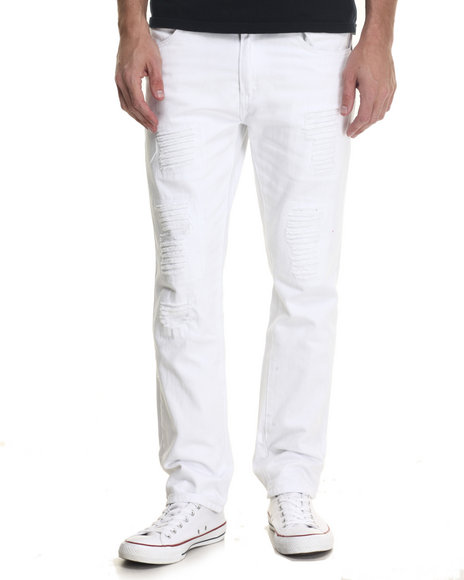 All White Jeans for Men