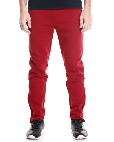 Winchester - Men Maroon Arizona Binding Trimmed Sweatpants