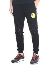 Bass By Ron Bass - Happiness Fleece Joggers
