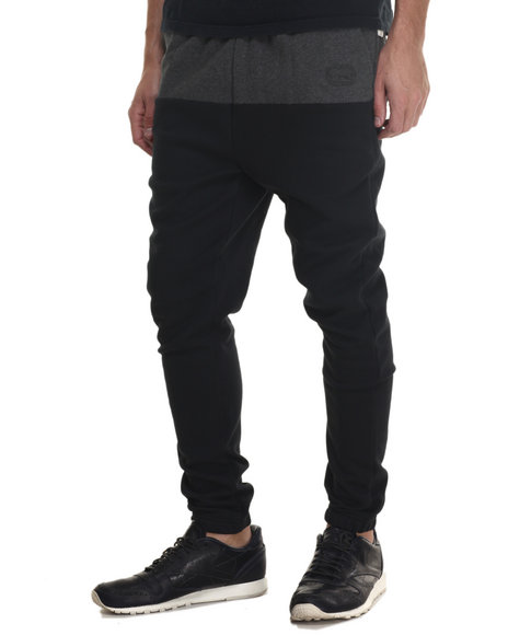 Ecko - Men Charcoal,Black Block To Block Sweatpant