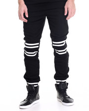 Winchester - Alabama Striped Jacquard jogger pants