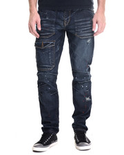Men - Destruct Utility Slim Leg Jeans