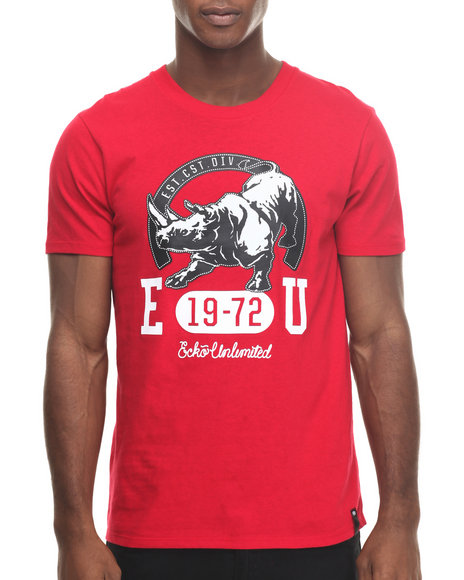 Ecko - Men Red Extra Credit T-Shirt