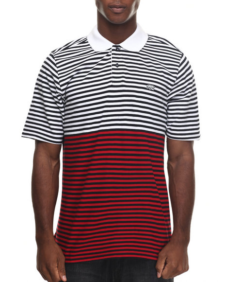 Ecko - Men White Stripin On And On Polo