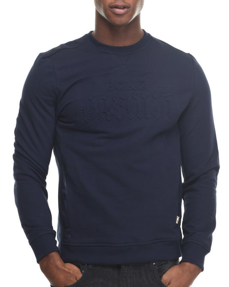 Premio By Ecko - Men Navy Necesito Crew Sweatshirt
