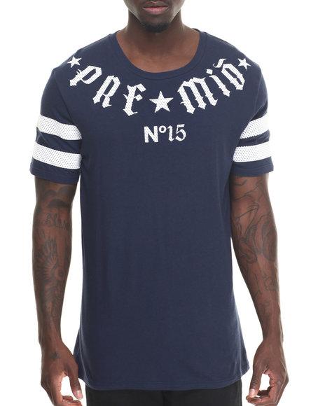 Premio By Ecko - Men Navy Stay True T-Shirt
