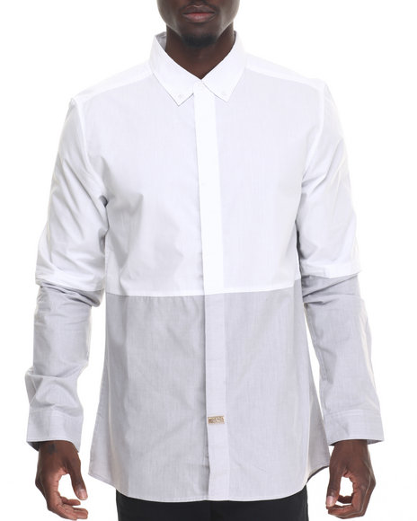 Premio By Ecko - Men White Times Two L/S Button-Down
