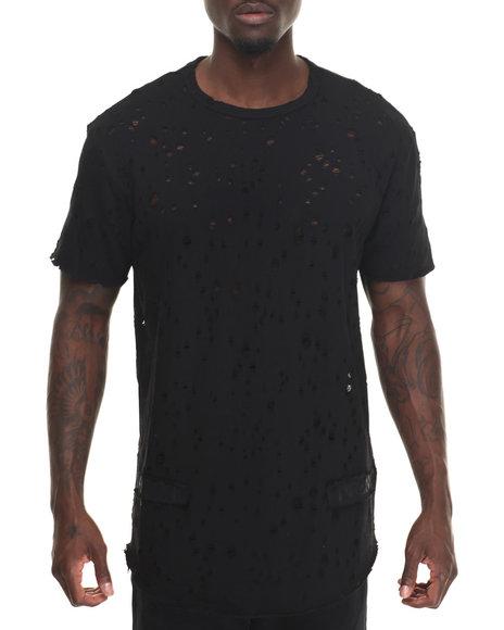 Hudson Nyc - Men Black Dystopia 2.0 S/S Shirt