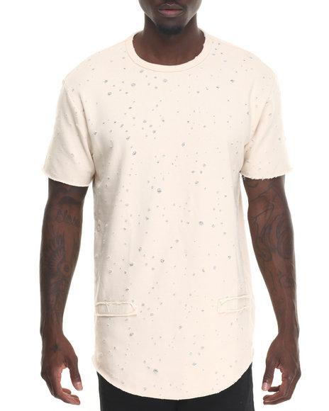 Hudson Nyc - Men Cream Dystopia 2.0 S/S Shirt